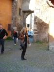 Katina looks beautiful in Italy doesn't she?