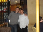 our Massimilano at Ritorno Al Passato (the Pantheon cafe)